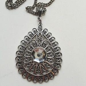 GASOLINE GLAMOUR Jewelry - GYPSY MEDALLION DROP MOONDUST NECKLACE NEW